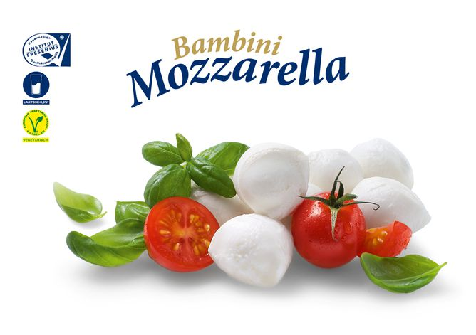 [Translate to English:] Bambini Mozzarella Mini